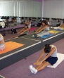 Yoga during exercise and nutrition class