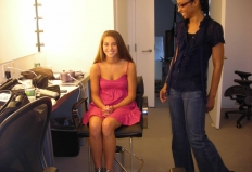 Behind the Scenes: Barbizon/Seventeen Photoshoot Contest