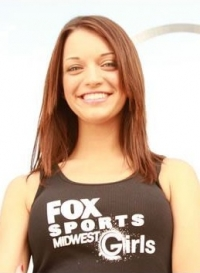 Jessica is Fox Sports Midwest Girl