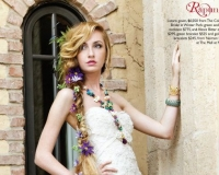 Kristina in Orlando Wedding Magazine