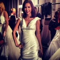 Markie Featured  in NY Bridal Week