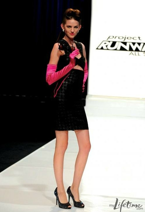 Rae Hight on Project Runway All Stars