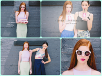 "Sarah Cate Stakely Is The Face of ""Summer Trends"" By Cultured Blog"