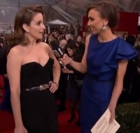 Tina Fey & Giuliana Rancic Talk Barbizon At Sag Awards!