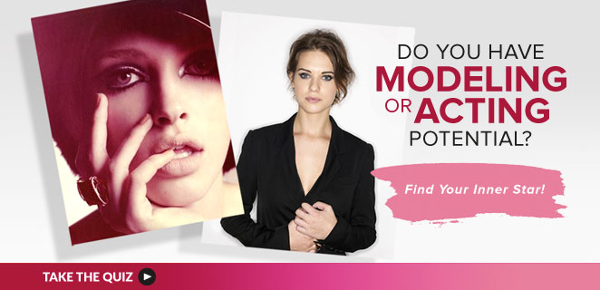 Learn whether you could be a model, an actor or both!