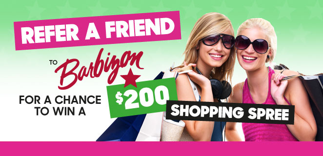 Contest: Refer a Friend to Barbizon Modeling to Win a Shopping Spree