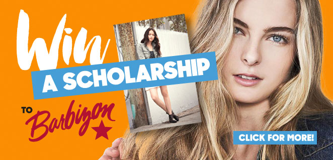 Win a Scholarship to Barbizon Modeling School
