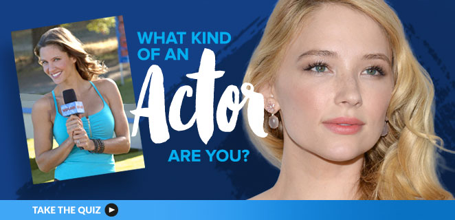 Acting Quizzes: What kind of an actor are you?