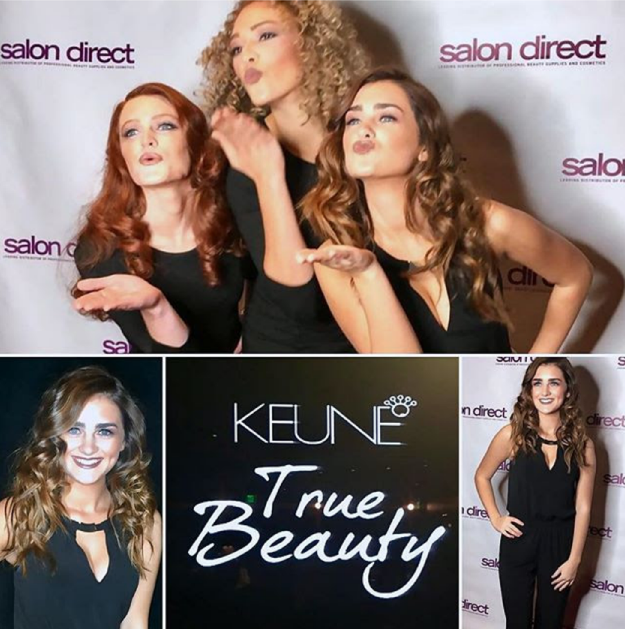 Barbizon Modeling Rebecca Books Keune True Beauty Campaign |